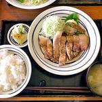 二代目 勝烈亭 - ポークソテー定食