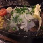 ROCK'N KITCHEN あいたい屋 - 2014.09 ステーキ(カイノミ)