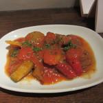 アバスク イチャスエタメンディ - 南仏野菜のバスク風ラタトゥイユ