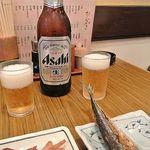 マルイ食堂 - ビール!