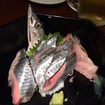 月とすっぽん - 秋刀魚のお刺身