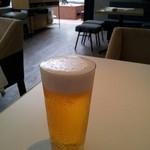 ブランチキッチン - ハートランドビール700円(瓶だと思った(^^