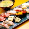 鮨丸 - 料理写真:極上にぎり12貫