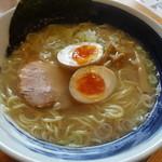 なごみ家 - なごみラーメン塩味、細麺¥770☆
