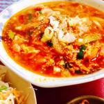 Korean Dining 彩 - 辛さマイルドカルビクッパ(豚)