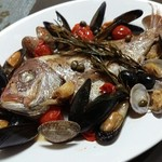 piccolo bar 117 - 料理写真:アクアパッツァ