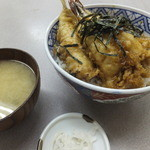 伊豆屋 - 天丼800円