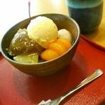 竹風堂 - 甘味も最高です。