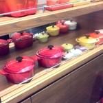 Soup&cafe たらTaRa  - ルクレーゼがいっぱい
