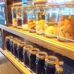 Soup&cafe たらTaRa  - フルーツ漬けもいっぱい