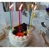オリーブ - 料理写真:「Happy Birthday」とケーキが登場。