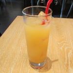 サクラサク - グレープフルーツジュース