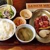 平和園 - 料理写真:ジンギスカン定食(520円)