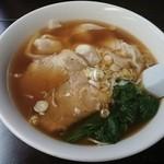 正香園 - 140916ワンタン麺
