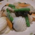 TAKE - イカの塩炒め