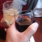 30802349 - ワインでカンパ~イ!