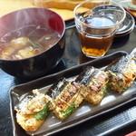 さんまんま魚政 - 「さんまんま(600円)」は評判通りの美味しさです