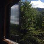 30802670 - 2014/09/09 窓から晩夏の箱根を見る