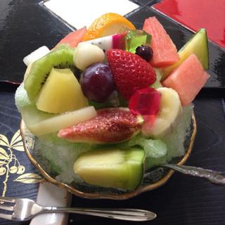 うちやま - 氷フルーツ