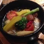 Bocca - 野菜のアヒージョ。