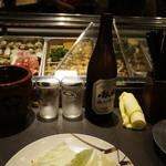信秀本店 - まずは、ビール