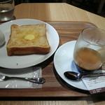 カフェ レクセル - トーストモーニング450円