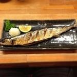 とんかつ 安右衛門 - 秋刀魚塩焼き