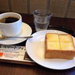 上島珈琲店 - モーニング(厚切りバタートースト)