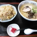 豊福亭 - ラーメンセットC(麺大盛り)