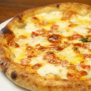 ピッツァに欠かせない!!チーズにもこだわっています