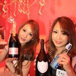 Jam&Tiara - シャンパンもありますよ。