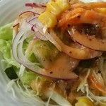 ぼだい樹 - ランチセットのサラダ