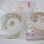 松涛園 - 雪月花(86円×3枚)2014/9/19