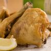 つぼ八 - 料理写真:地元産の鳥を使った『若鳥半身揚げ』