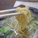 英福 - タンメン(中太平打ち麺)