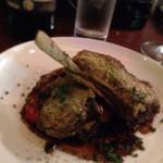 BiSTRO BOULEAU BLANC - 料理写真:140918 ラム肉の香草パン粉焼き