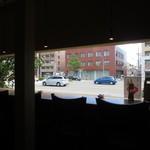 三條若狭屋 - カウンター席からの風景