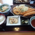 味の華 - 海老フライ定食