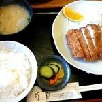 30823619 - ロースカツ定食♪                       1500円★