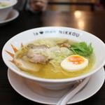 ラーメンニッコウ - 日香麺 塩☆
