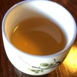 生そば 槐 - そば茶