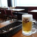 エアポートグリル&バール - 生ビール サントリープレミアムモルツ