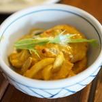 香菜軒 - 天然海老とキノコのカレー