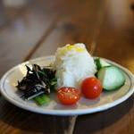 香菜軒 - 有機野菜のサラダ