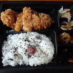大戸屋 - 四元豚のロースかつ弁当 781円