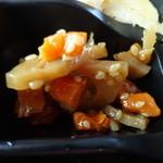 大戸屋 - 弁当の副菜:きんぴら