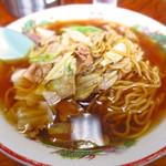 こばや食堂 - スープ入り焼きそば650円