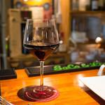 トラットリア・フランチェスカ - グラスワイン