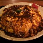 スーパーキッチン かさや - 料理写真:お~おむらいす 【999円】