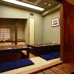 神田 わだつみ - 人気の掘りごたつのお席です。10名様まで